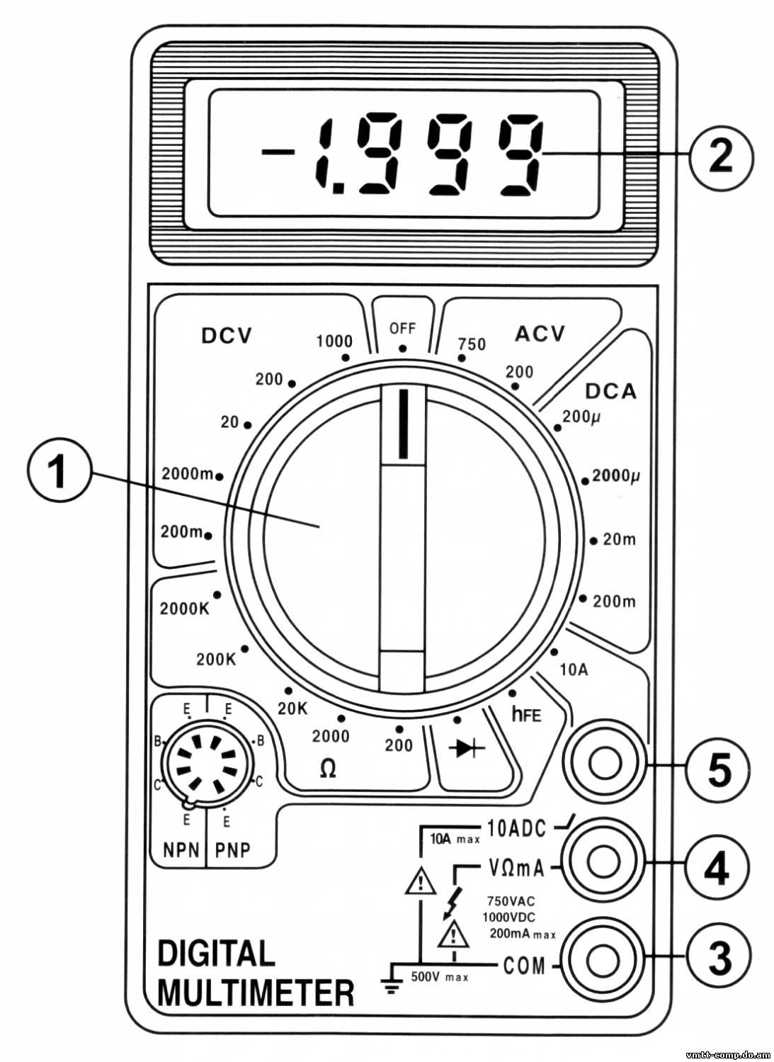 мультиметр м838 инструкция по применению видео