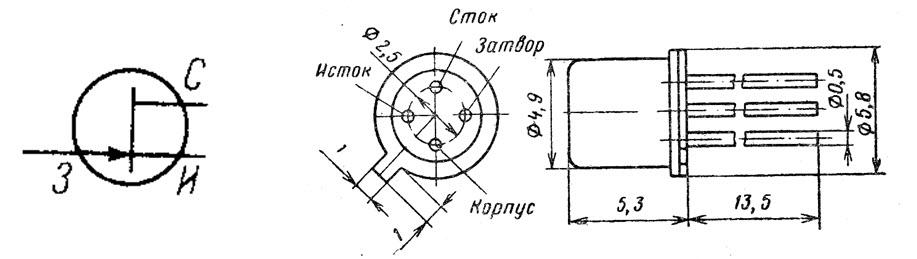Маркировка полевого транзистора кп303